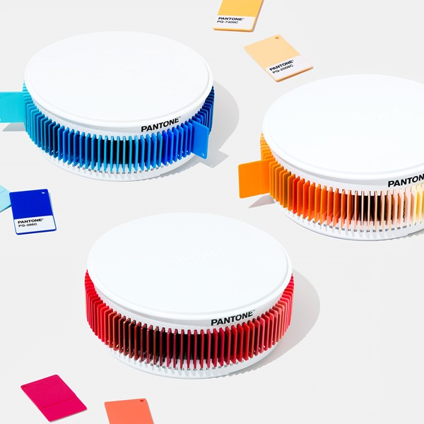 bang mau pantone Plastic Chip Color Sets