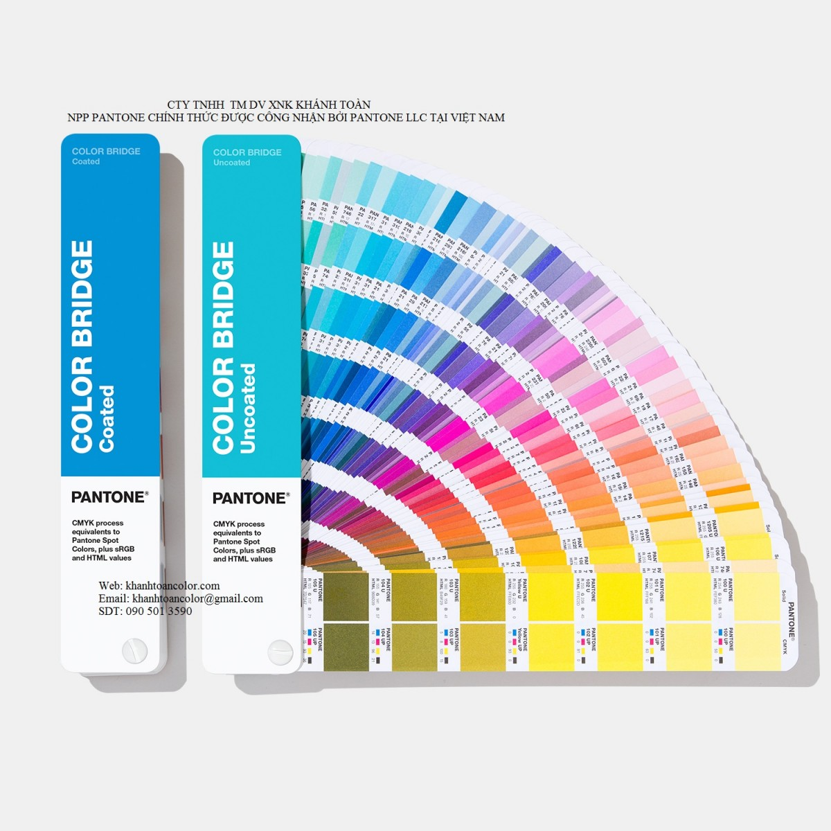 khanhtoancolor.com - Pantone Color Bridge GP6102A (New 2019)