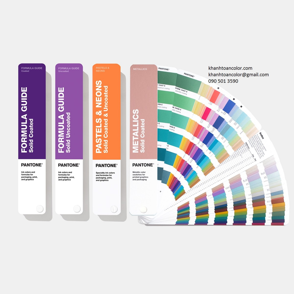 khanhtoancolor.com - Pantone Solid Guide Set GP1605A (New 2019) edit
