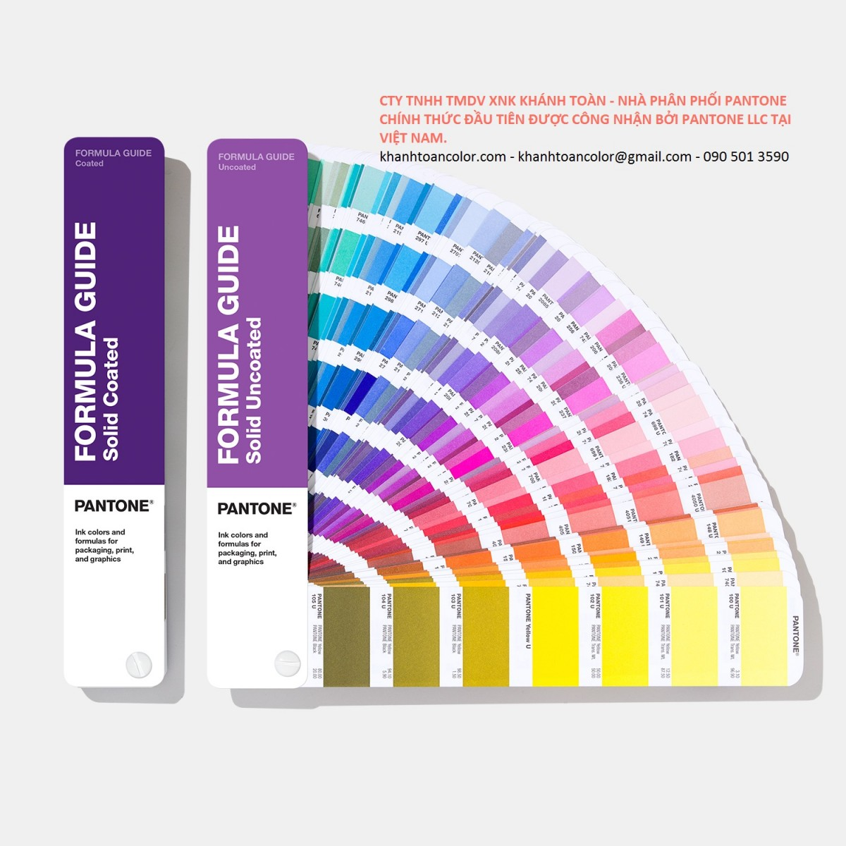 bang mau Pantone Formula Guide Coated & Uncoated – GP1601A