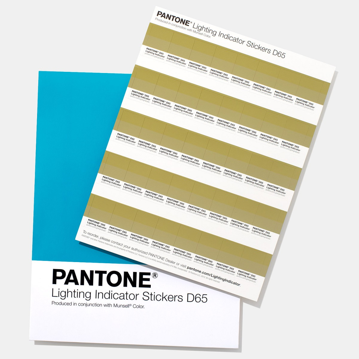 bang mau pantone - Pantone Lighting Indicator Stickers D65 (3)