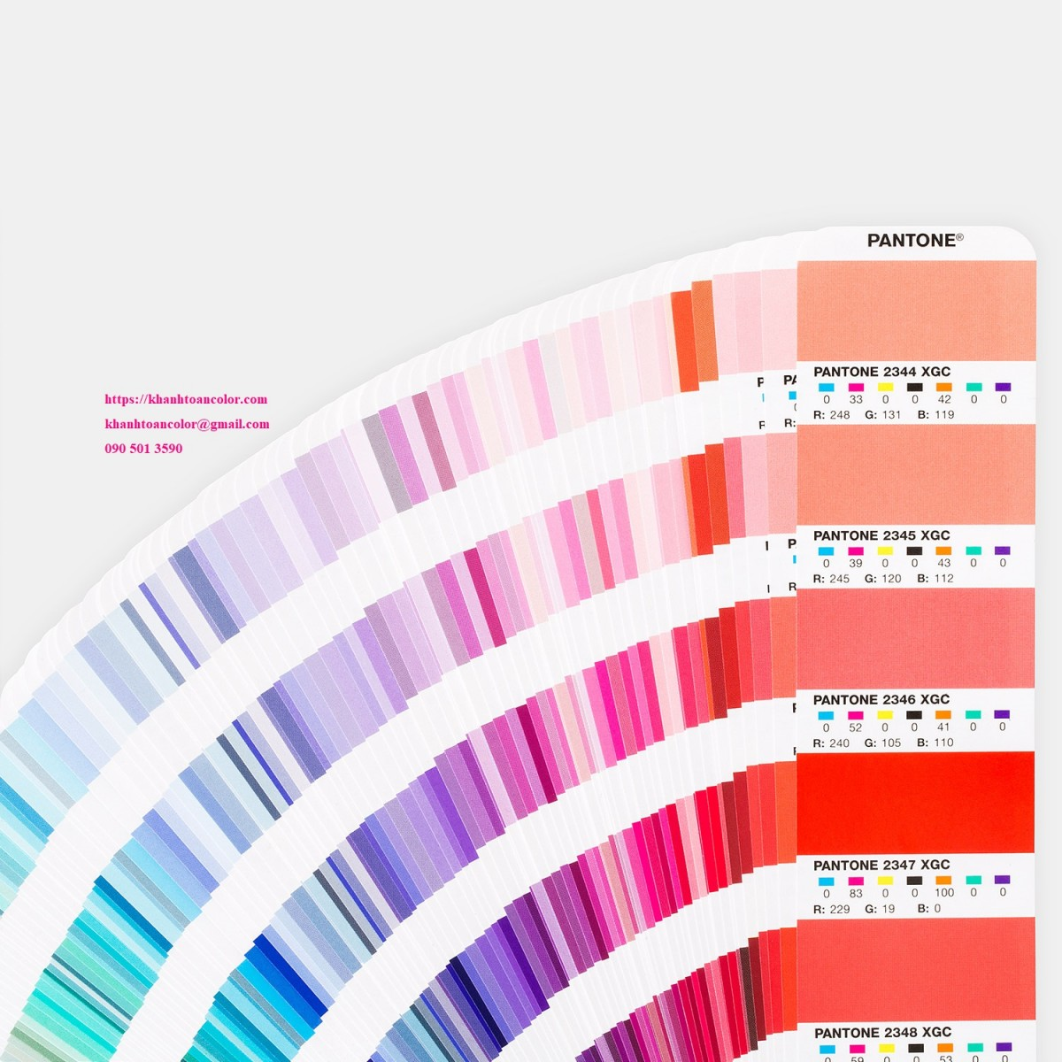 pantone mau moi nhat GG7000-pantone-pms-7-color-process-printing-cmyk-orange-green-purple-fan-guide-extended-gamut-coated-guide-product-2